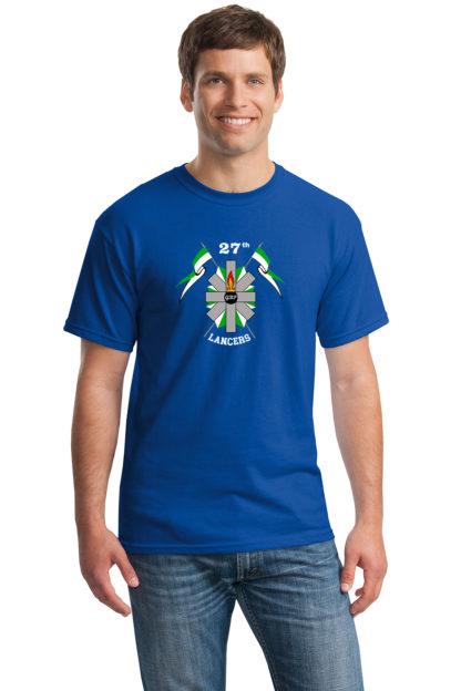 27thLancersBlueT-Shirt5000