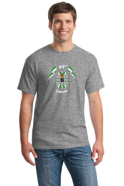 27thLancersGrayT-Shirt5000