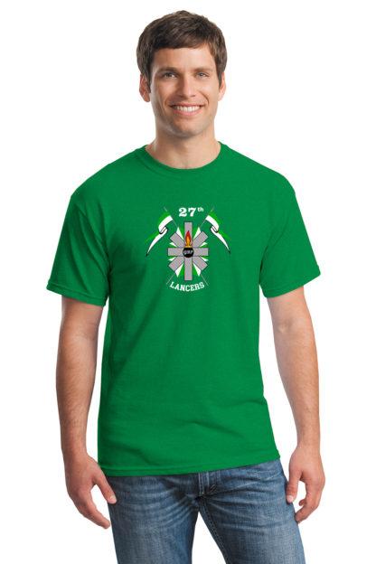 27thLancersGreenT-Shirt5000