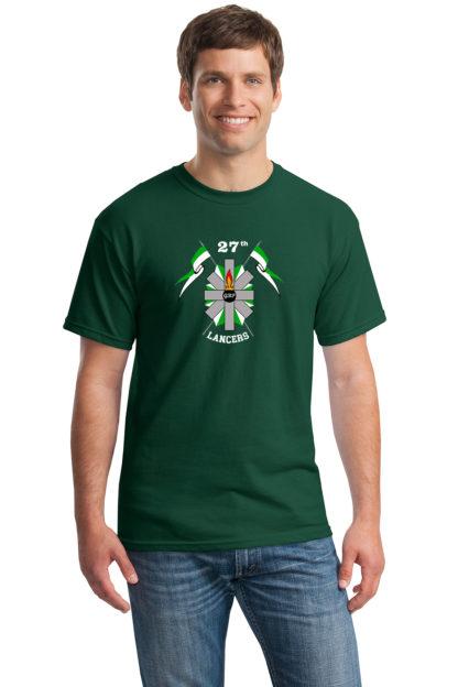 27thLancersHunterGreenT-Shirt5000