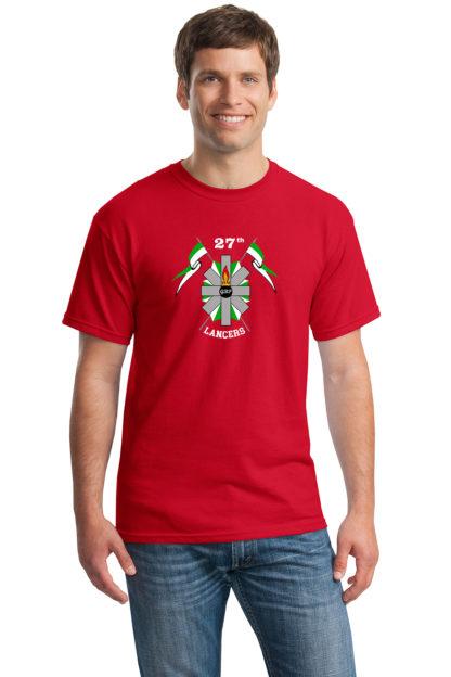 27thLancersRedT-Shirt5000