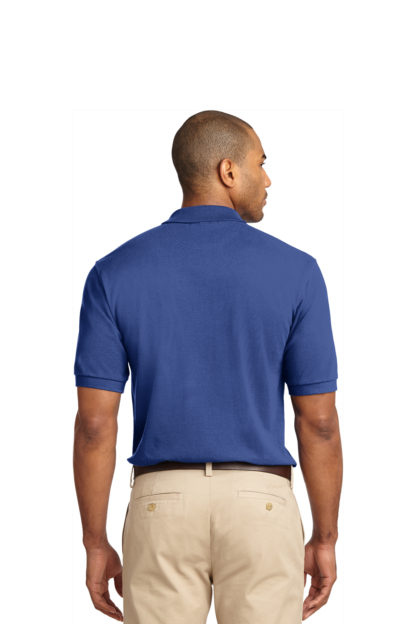 Blue Polo Back