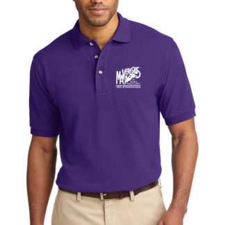 Mavericks Purple Polo Shirt Front