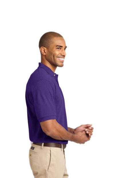 Purple Polo Shirt Side