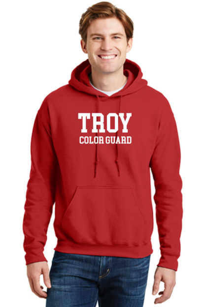 Troy Color Guard Red Hoodie