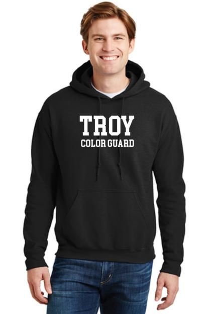 Troy Color Guard Black Hoodie