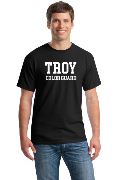 Troy Color Guard Black T-Shirt