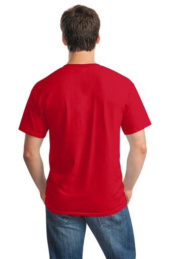 Troy Color Guard Red T-Shirt Back