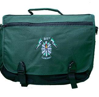 27th Lancers Messenger Briefcase G304