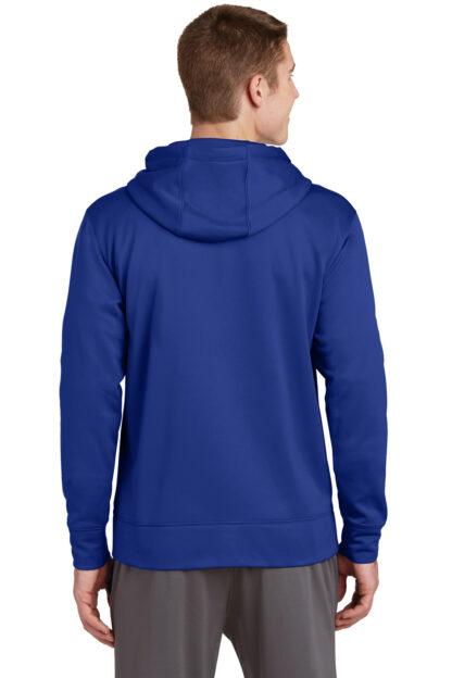 True Blue Hoodie Back