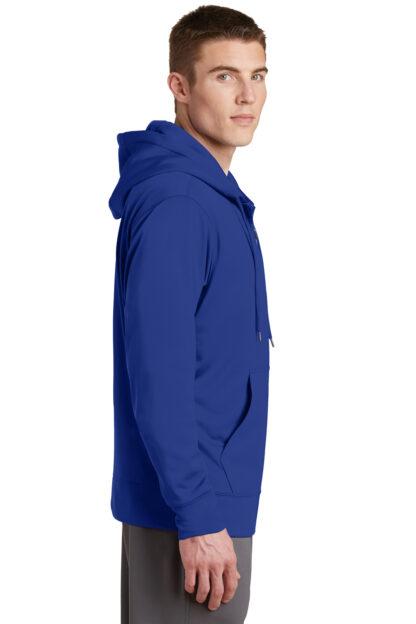 True Blue Hoodie side